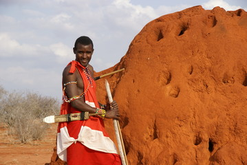 Maasai - termitaio