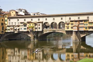 Ponte Vecchio and Kayak