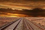 ferrovia nel deserto-