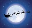 Santa's sledge.