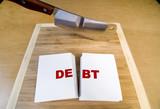 Cutting Debt poster