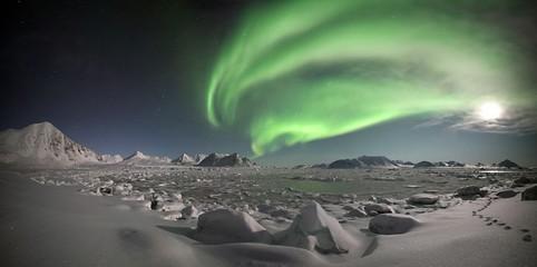 Northern lights, Spitsbergen