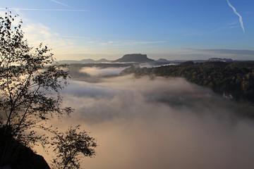 Herbstimpression in der Sächsischen Schweiz