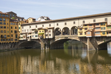 Ponte Vecchio Across Arno