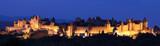 panoramique nocturne de la cité poster