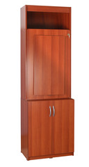 Cabinet. Clipping path