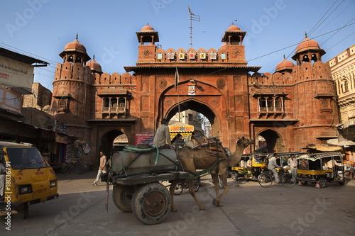 gate in Bikaner