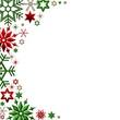 bunter Weihnachtsrahmen