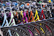 Leinwanddruck Bild - bicycles