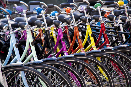 Poster bicycles