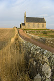 Traditional Scottish church in East Neuk of Fife, Scotland.