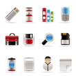Business and Office tools icons  vector icon set 3