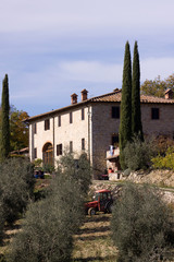 tuscany countryside house