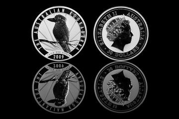 Silber Münze