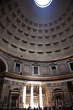 3pm Pantheon Sundial Effect Cupola Ceiling Hole  Rome Italy poster