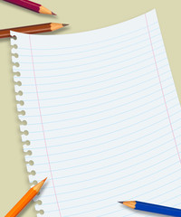 Papel e lápis