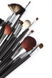 Paintbrushes to make up