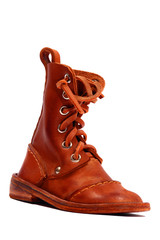 Tiny leather shoe