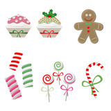 Christmas candy set