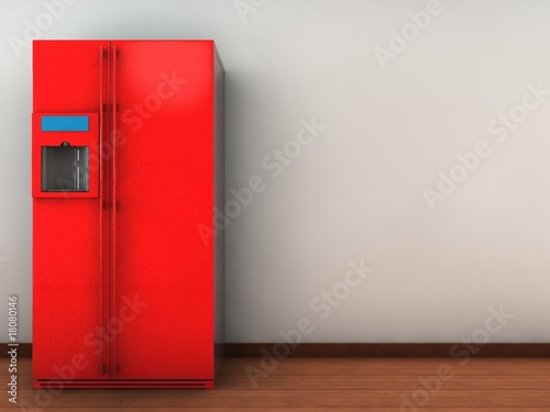 refrigerator to face a blank wall