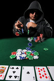 Poker Player Betting poster