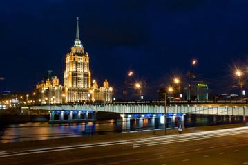 Novoarbatskiy bridge & hotel Ukraine