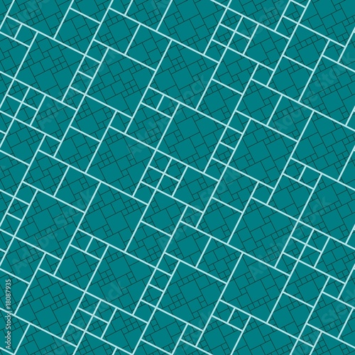 Green tiles. Seamless vector pattern