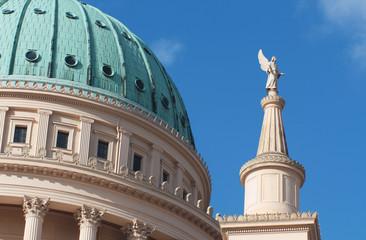 Nikolaikirche Kuppel Ausschnitt