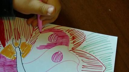 Colorando la farfalla