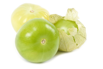 Tomatillos or Green Tomatoes