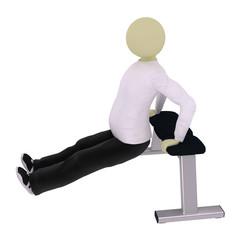 Man squat