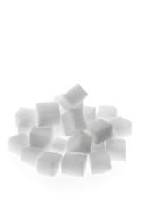 Viele Stücke Zucker zum süßen