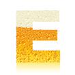 alphabet beer E