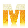alphabet beer M