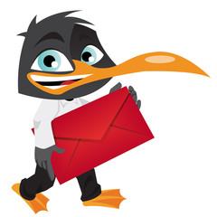 Pingouin mail urgent