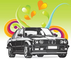 Fine Art BMW car