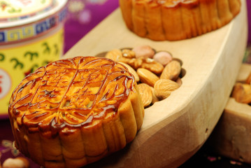 Chinese famous food--Moon cake