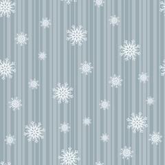 Sparkling Snowflake Seamless Tile