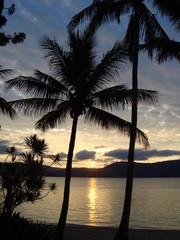 Sunset at Day Dream Island