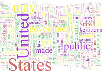 Word cloud - Washington