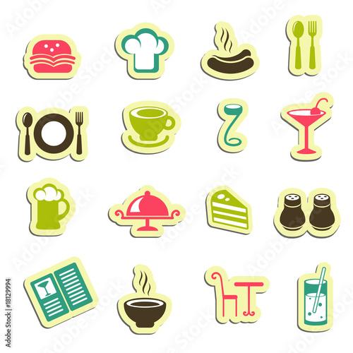 restaurant icons图片