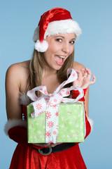 Beautiful Christmas Gift Girl