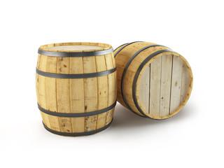 Several Barrels.