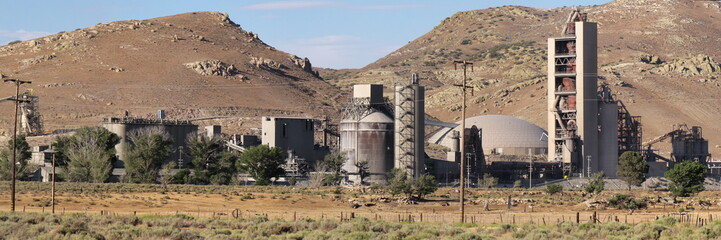 manufacturing industrial plant in California