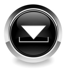 Black download button/icon