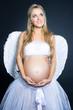 Pregnant angel