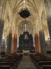 Nave central de la Concatedral de Cáceres