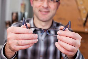 brille anprobieren