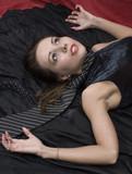 Crime scene investigation: strangled victim poster