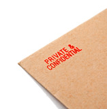 private and confidential letter poster